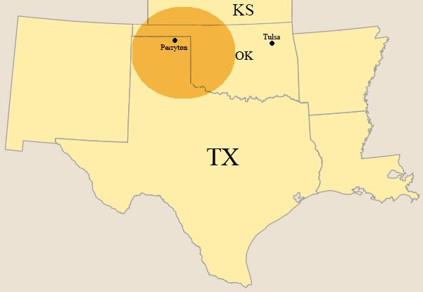 Strat Land S Corporate Headquarters Are Located In Tulsa Oklahoma We Also Maintain A Field Office In Perryton Texas Strat Land S Operations Are
